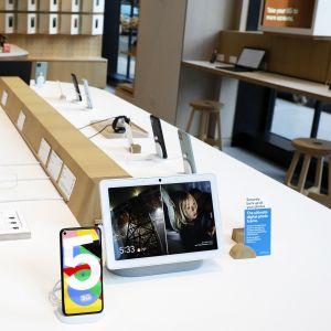 Google Store -liike New Yorkissa.