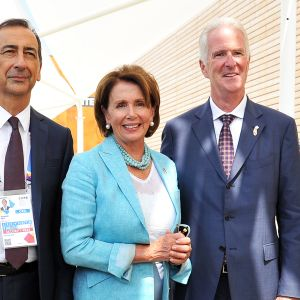 Giuseppe Sala, Nancy Pelosi ja Douglas Hickey