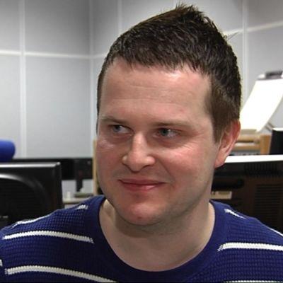 Christoffer Herberts, sportchef Hufvudstadsbladet