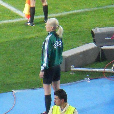 Lina Lehtovaara in action