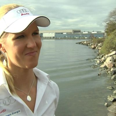 Sari Multala i Helsingfors 2010