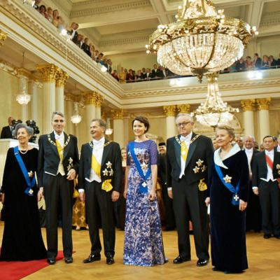 Presidenterna samlade