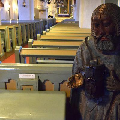Vaivaisukko Hauhoin kirkossa