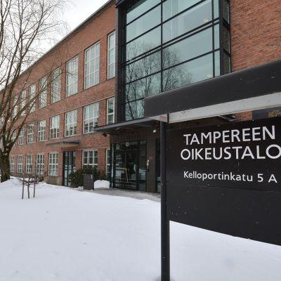 Tampereen oikeustalo.