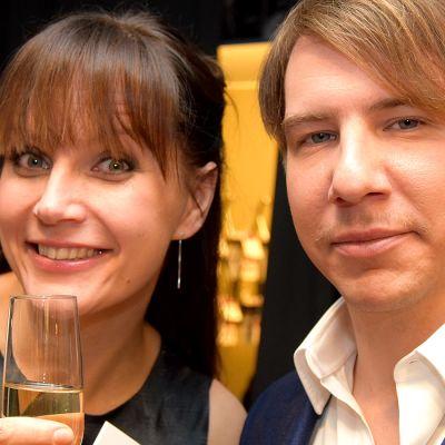 Niina Lahtinen ja Aku Hirviniemi