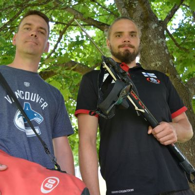 Pekka Mäkiniemi ja Joni Onnela