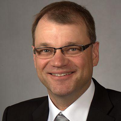 Kansanedustaja Juha Sipilä (kesk.)