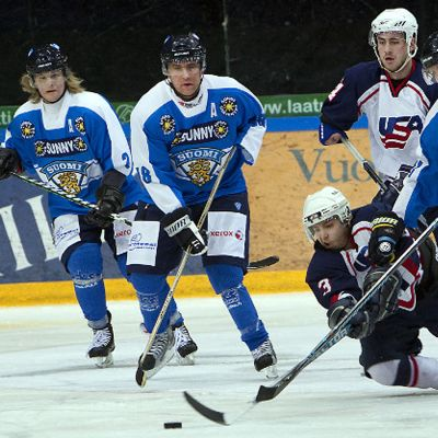 Proteesikiekon MM-kisaottelu Suomi-USA
