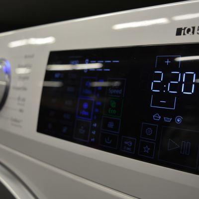 Pesukoneen uusi ilme on hieman toista kuin 20 vuotta sitten