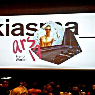 Ars 17 på Kiasma, pressvisning