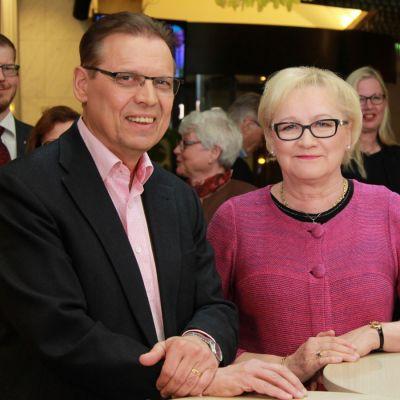 Lauri Lyly ja Anneli Taina