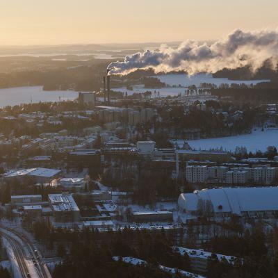 Kaupunkinäkymä Kuopiosta