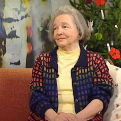 Kirjailija Eeva Kilpi