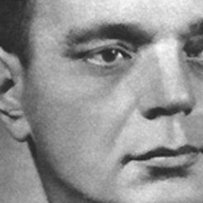 Kirjailija Pentti Haanpää
