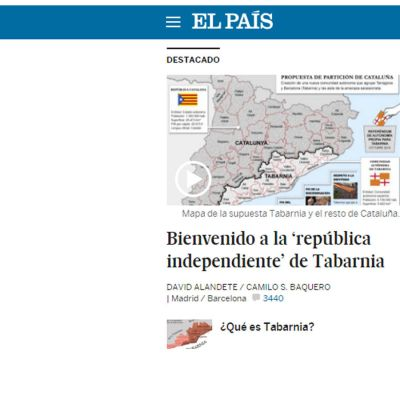 Tabarnia (Skärmdump / El País)