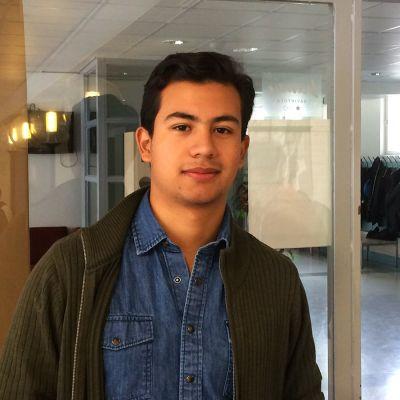 Gymnasieeleven André Martinez.