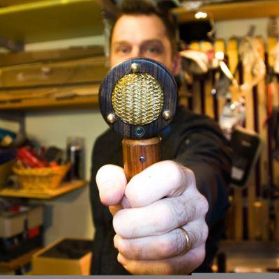 Timbre Tones -kondensaattorimikrofoni.