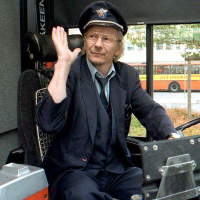 Bussinkuljettaja Pentti Hartikainen