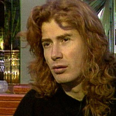 Megadethin Dave Mustaine haastattelussa vuonna 1995