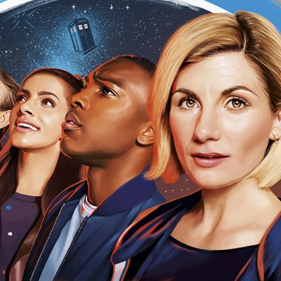 Doctor Who-tieteissarjan yhdestoista tuotantokausi, Tohtorina Jodie Whittaker (oik.)
