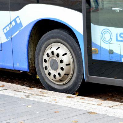 Lahden paikallisbussi.