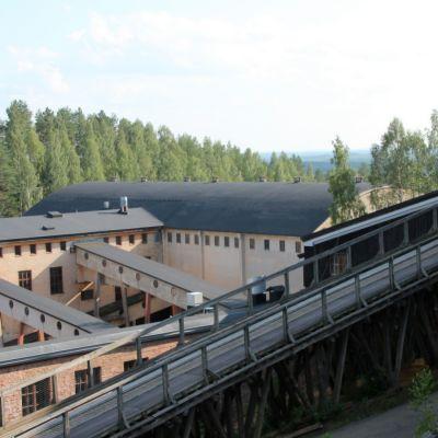 Ouotkummun vanhaa kaivos aluetta.