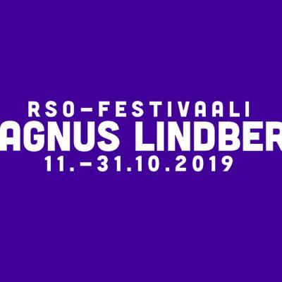 RSO-festivaali Magnus Lindberg logo