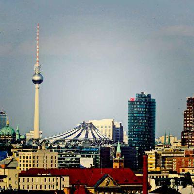 Ilmakuva Berliinistä