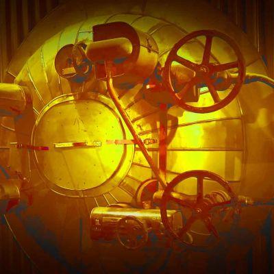 Vanhanaikainen mekaaninen kone, käsitelty kuva