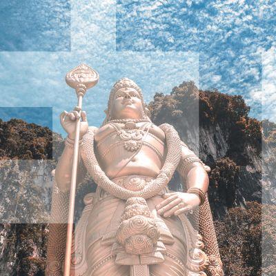 hindulainen patsas