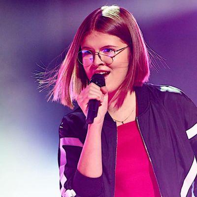 Isabel sjunger i MGP-finalen 2019