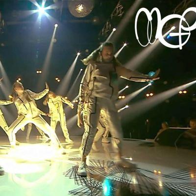 Dansare i MGP 2019