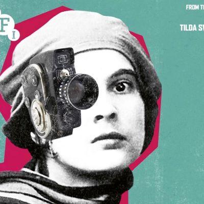 Nainen ja elokuvakamera – dokumenttisarjan Women Make Film mainosjuliste