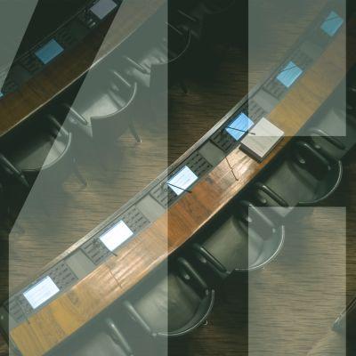 kuva eduskuntatalon salista