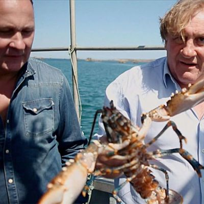 Näyttelijä Gérard Depardieu ja keittiömestari Laurent Audiotin lähtevät makumatkalle.