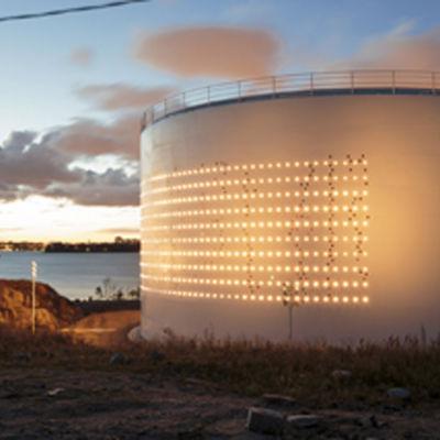 Oljehamnen på Degerö i Helsingfors