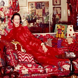 Diana Vreeland visste hur man inredde ett vardagsrum.