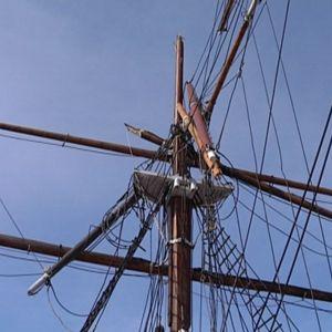 Sigyns mast gick av i maj 2016.