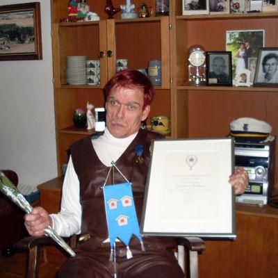 CP-vammainen Esko on SuomiLOVE-tarinan sankari.
