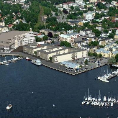 Plan över Norra hamnen
