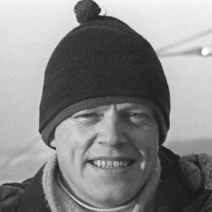 Veikko Kankkonen mustavalkoisessa kuvassa (1960-luku).