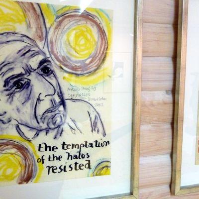 Leonard Cohenin omakuva