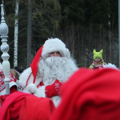 Pakkasukko ja joulupukki