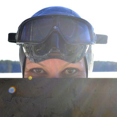 Vapaasukeltaja Johanna Nordblad.