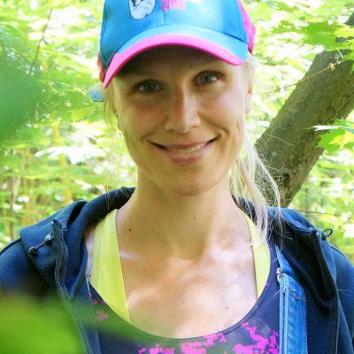 Suunnistaja Minna Kauppi.