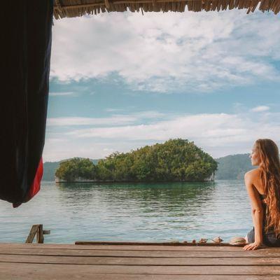 Indonesiassa sijaitseva Raja Ampatin saariryhmä on Sandra Pesosen lempikohde.