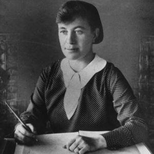 Författaren Agnes von Krusenstjerna