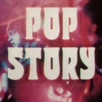 Kuvakaappaus Pop Story -ohjelmasarjan alkugrafiikasta