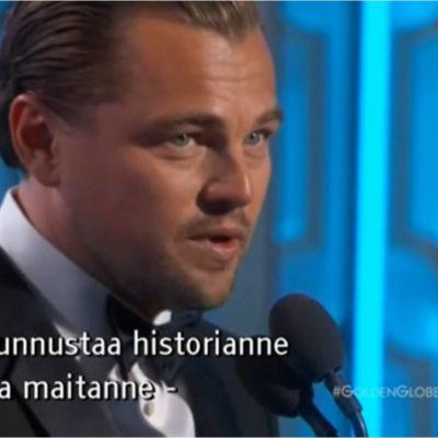 Leonardo DiCaprio, Golden Globe 2016
