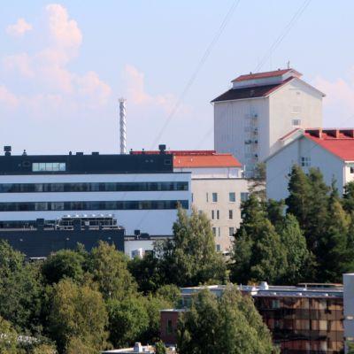 Pohjois-Karjalan keskussairaala Joensuun Niinivaaralla.